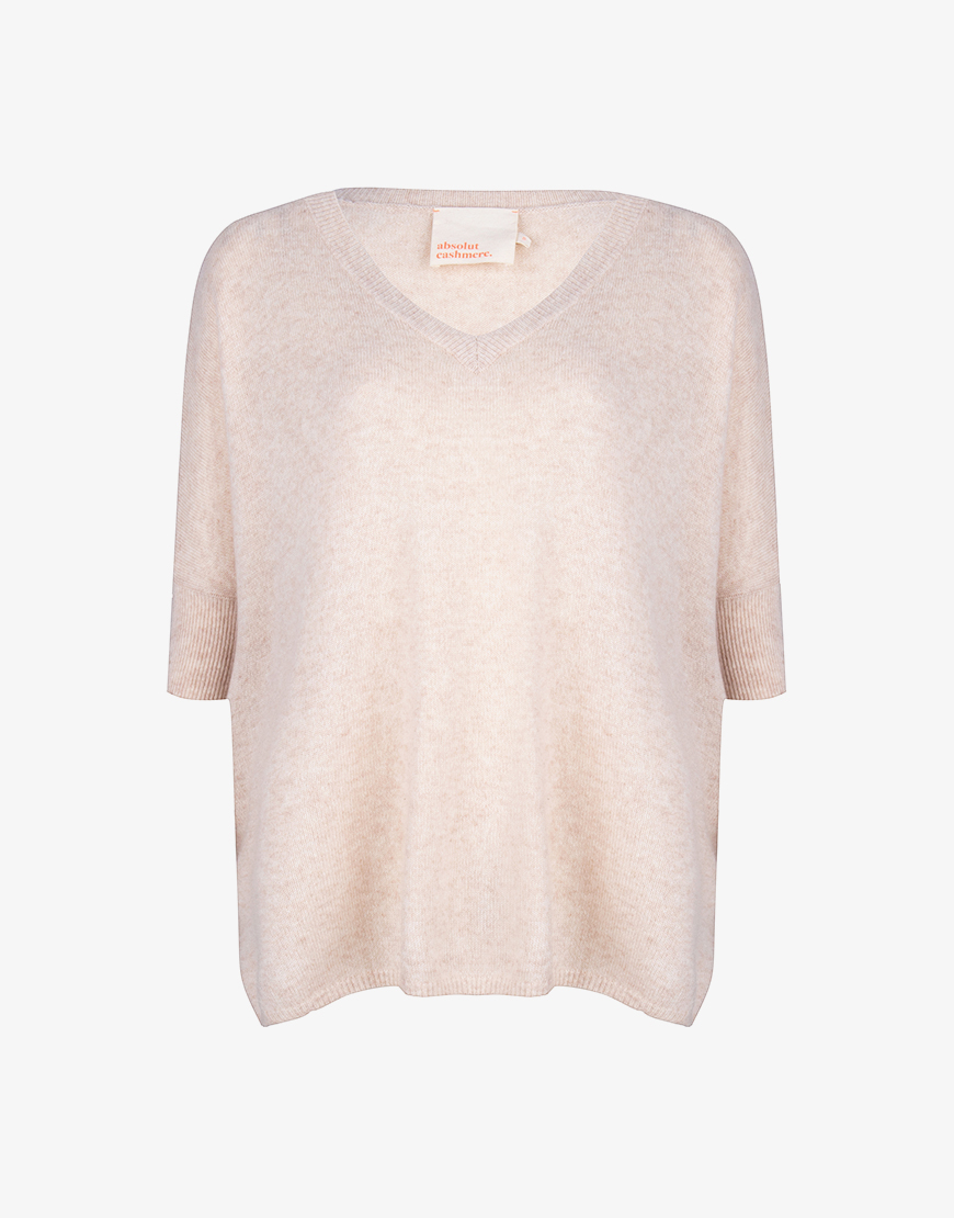 Absolut Cashmere Kate trui gris chine