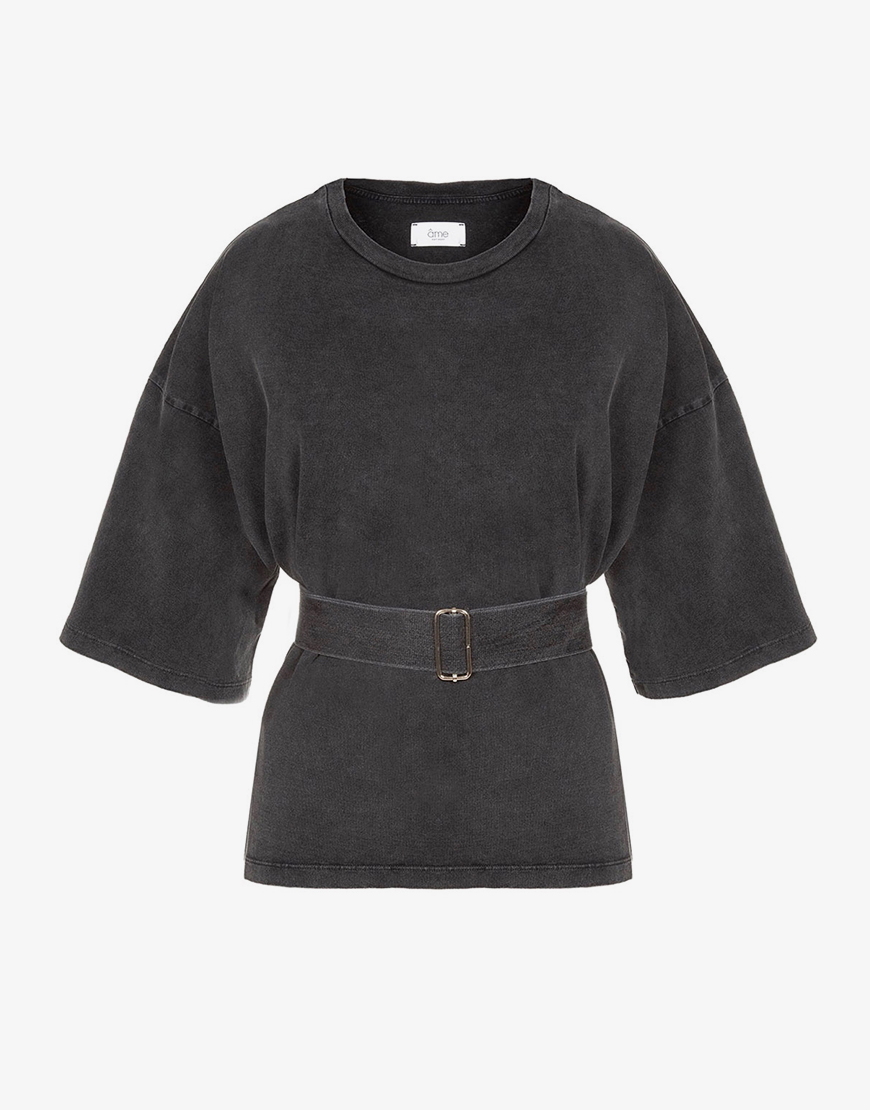 Âme Elsa shirt vintage black