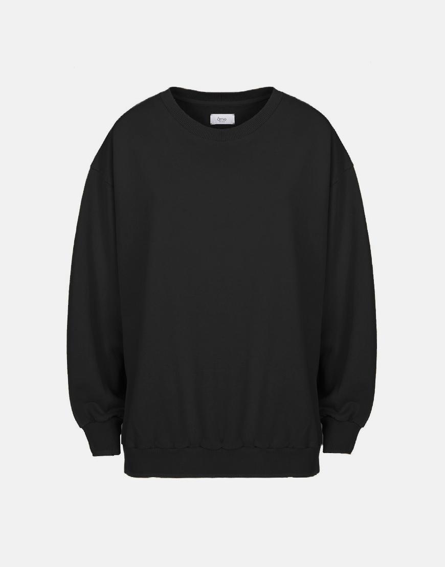 Âme Ulla sweater zwart