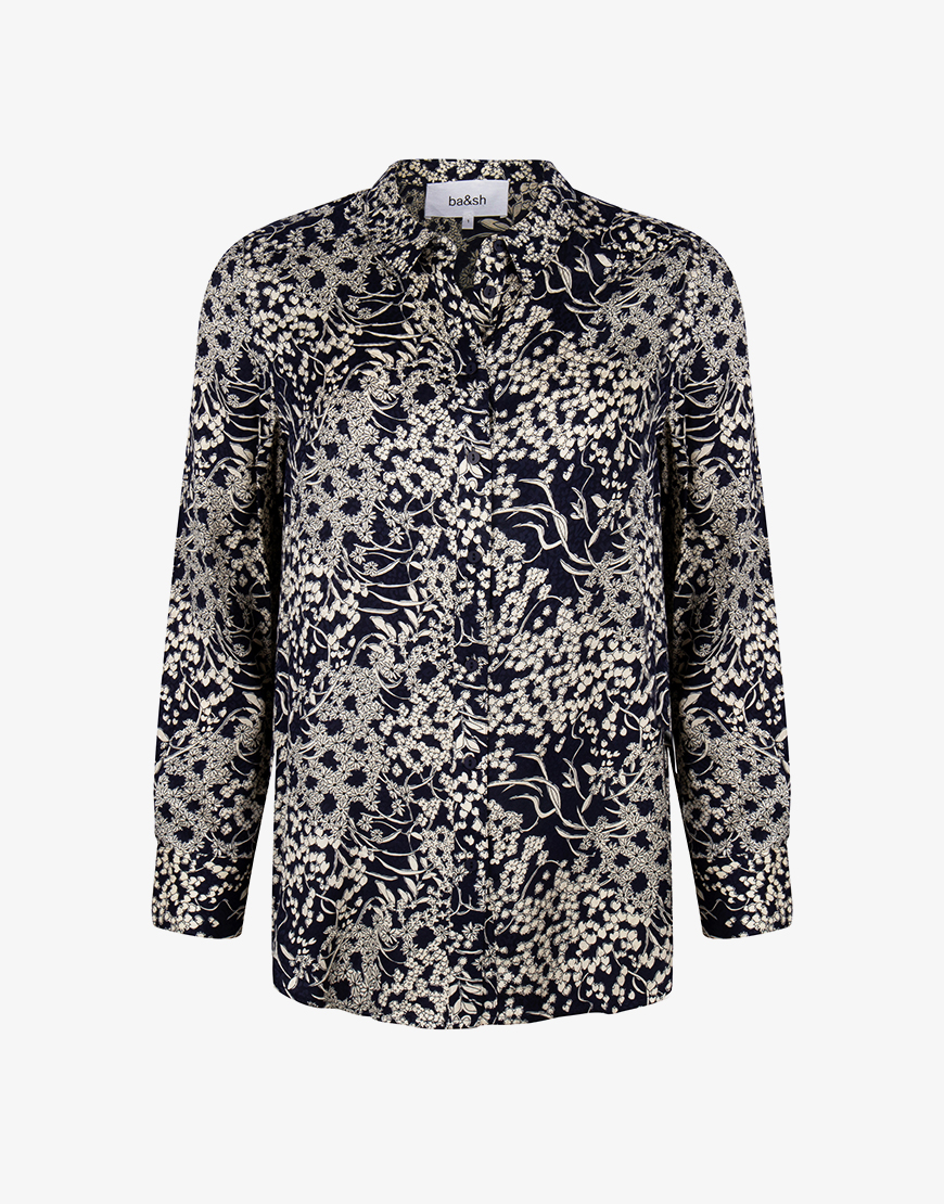 Ba&sh Mara blouse marine