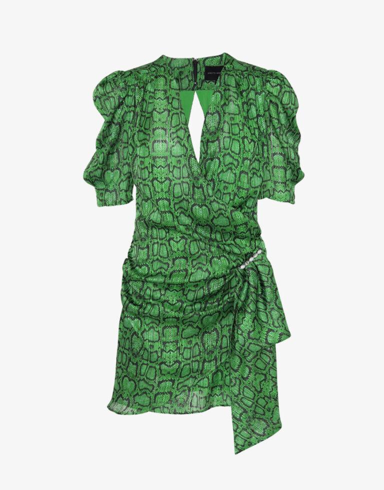 Birgitte Herskind Kathinka jurk groen