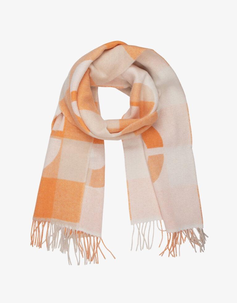 Closed sjaal oranje