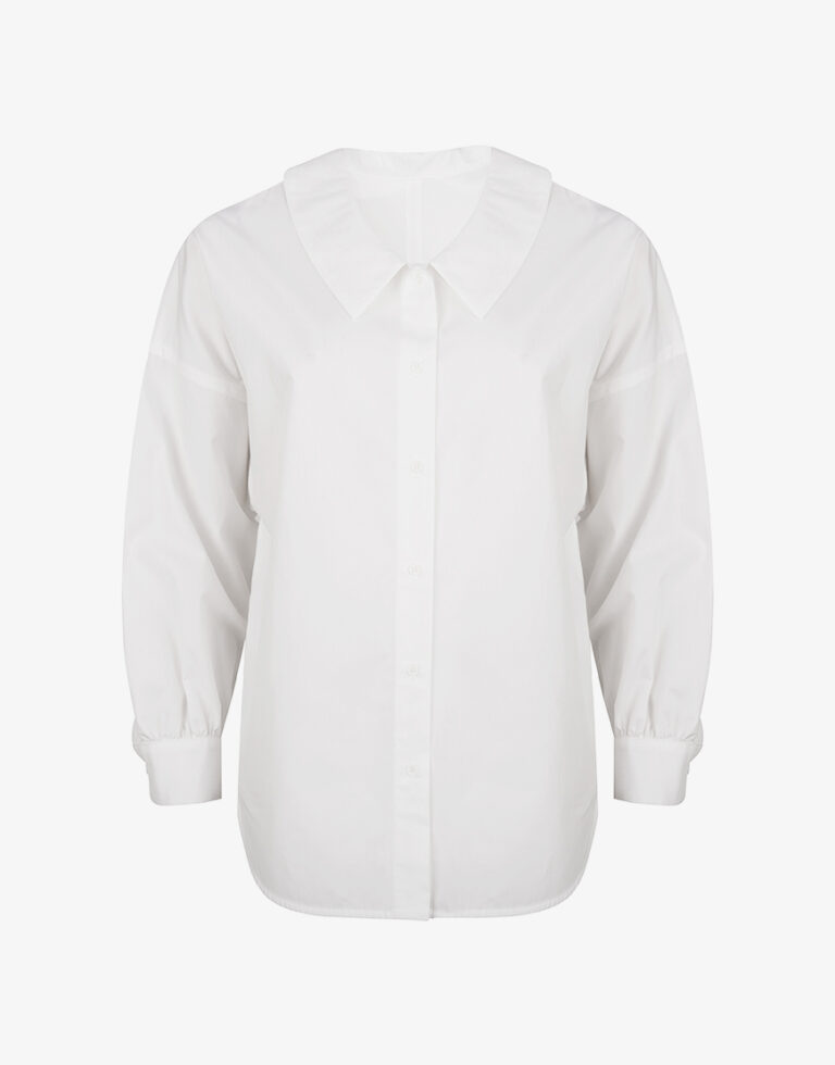 Collectors Club Begonia blouse wit