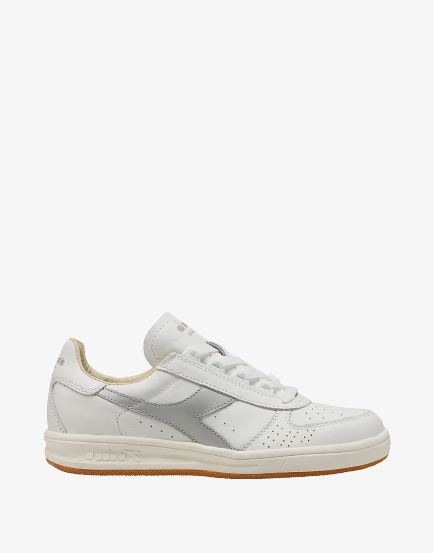 Diadora Heritage B. elite italia sport sneaker white-zilve