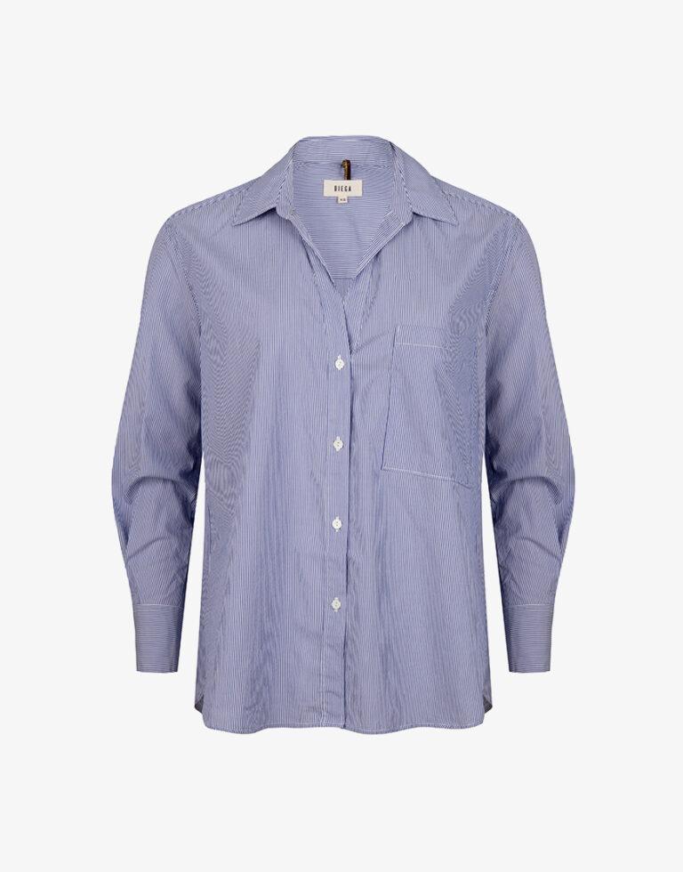 Diega Chowa blouse blauw