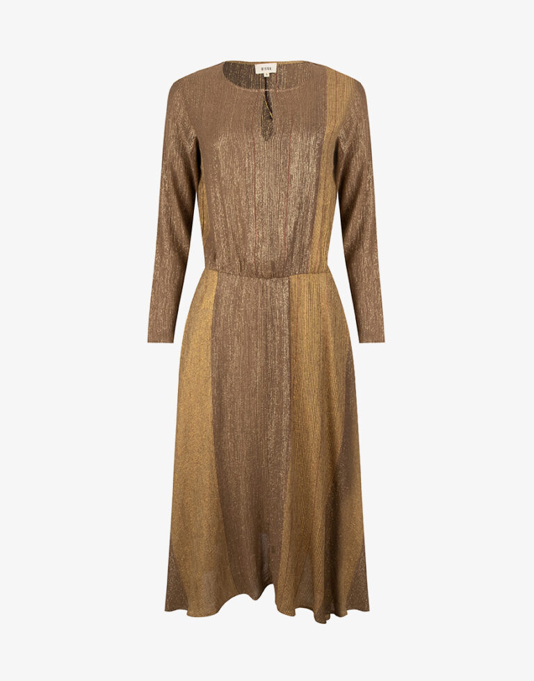 Diega Rusta jurk bruin