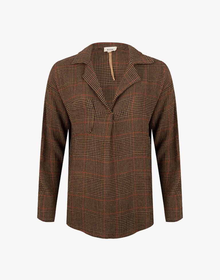 Diega Timea blouse bruin ps
