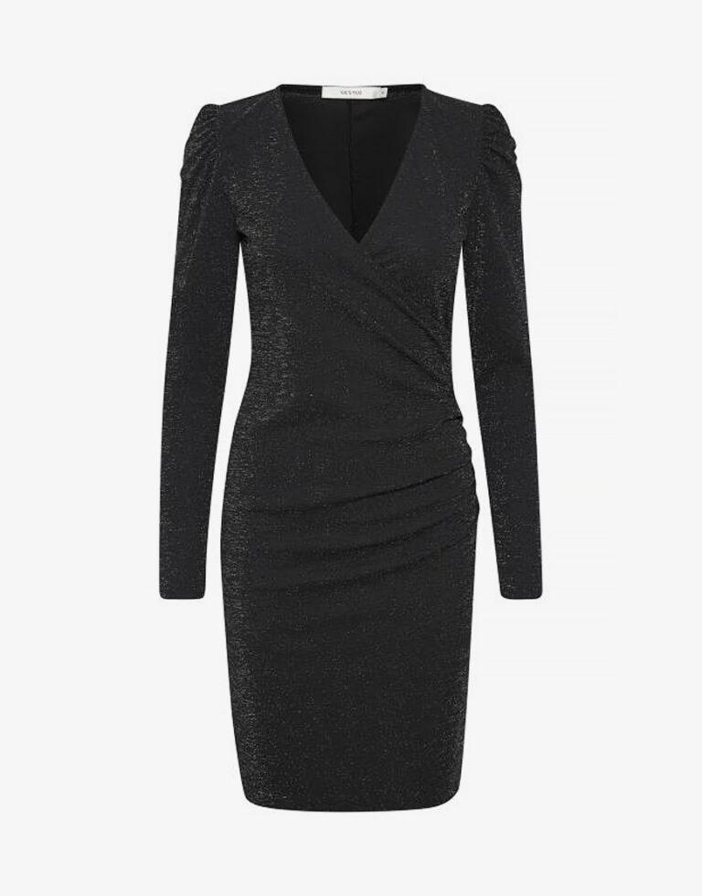 Gestuz Solin jurk zwart