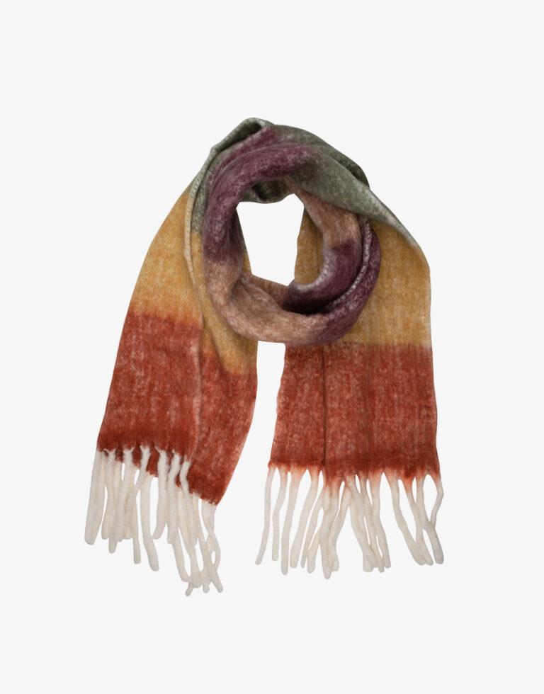 MKT Folie sjaal multicolor