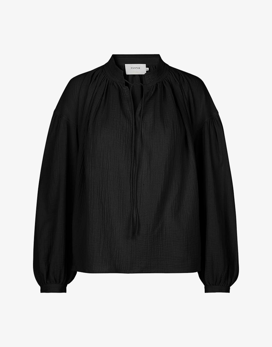 Munthe Sepia blouse zwart