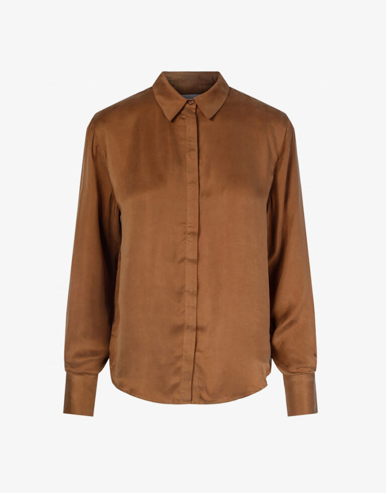 One & Other Louise blouse bruin